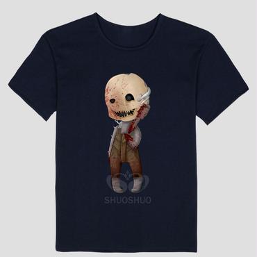 DBD デッドバイデイライト DEAD BY DAYLIGHT Tシャツ トラッパー オリジナル ネイビー