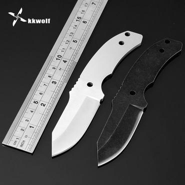 Kkwolf440cステンレス鋼ブラックホワイトナイフ刃多様化キャンプ用品レスキューツールポータブルハイキング
