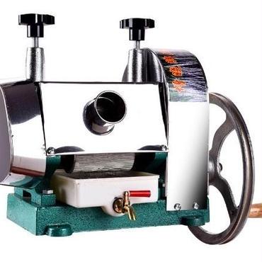 最新版 サトウキビ 絞り機 手動式 サトウキビジューサー
