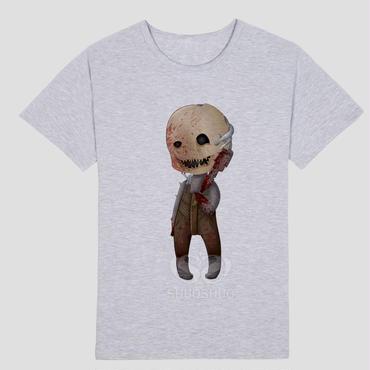 DBD デッドバイデイライト DEAD BY DAYLIGHT Tシャツ トラッパー オリジナル グレー