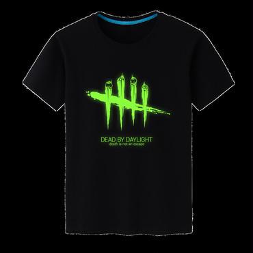 DBD デッドバイデイライト DEAD BY DAYLIGHT Tシャツ ロゴ グリーン