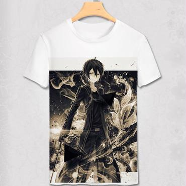 ソードアートオンライン SAO Tシャツ  キリト5