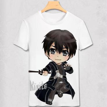 ソードアートオンライン SAO Tシャツ  キリト2