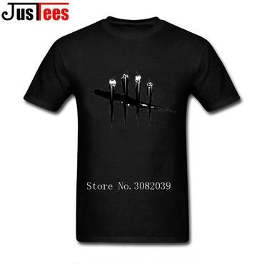 DBD デッドバイデイライト DEAD BY DAYLIGHT Tシャツ ロゴ ブラック  黒