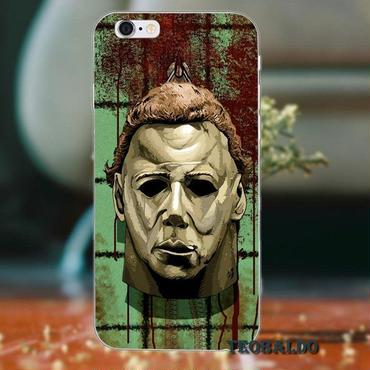 ハロウィーン マイケルマイヤーズ (Halloween Michael Myers)スマホケース カバー 保護ケース シリコン製 iphone用 29
