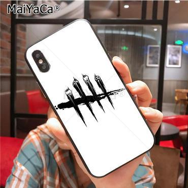 デッド バイ デイライト(Dead By Daylight) スマホ カバー 保護ケース ソフトシリコン製 MaiYaCa  iPhone  5 5s  se 6 6s 7 8 plus X