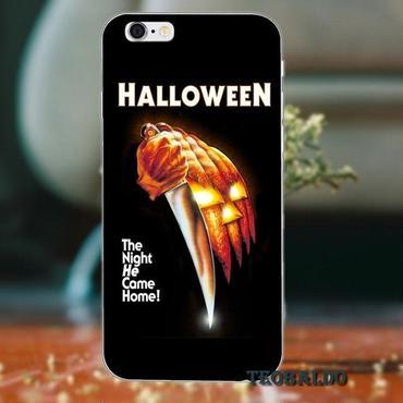 ハロウィーン マイケルマイヤーズ (Halloween Michael Myers)スマホケース カバー 保護ケース シリコン製 iphone用 22
