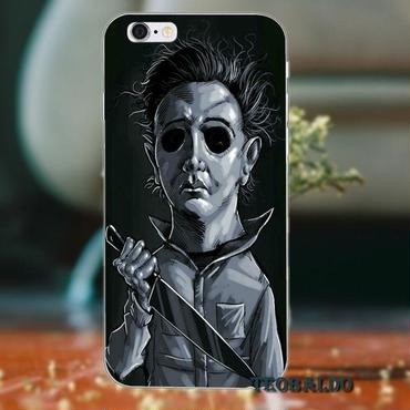 ハロウィーン マイケルマイヤーズ (Halloween Michael Myers)スマホケース カバー 保護ケース シリコン製 iphone用 27