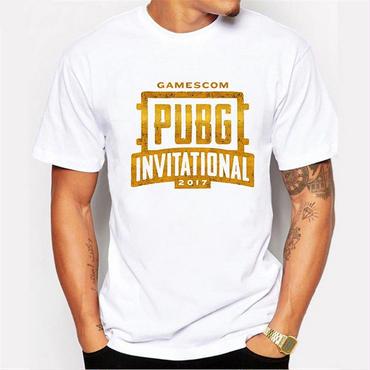 PUBG INVITATIONAL 2017 Tシャツ ドン勝 支援物資 FPS TPS パブジー コスプレ イベント ロゴ オフ会 大会 観戦 応援 サイズS~3XL