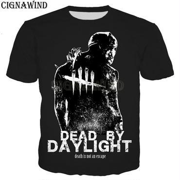 デッド バイ デイライト(Dead By Daylight) 3Ⅾプリント Tシャツ トラッパー シルエット