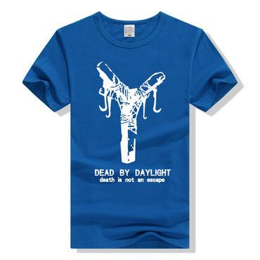 DBD デッドバイデイライト DEAD BY DAYLIGHT Tシャツ 地下フック ブルー
