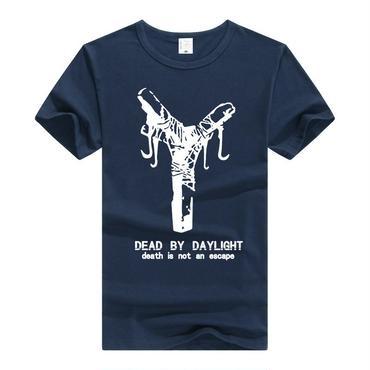 DBD デッドバイデイライト DEAD BY DAYLIGHT Tシャツ 地下フック ネイビー