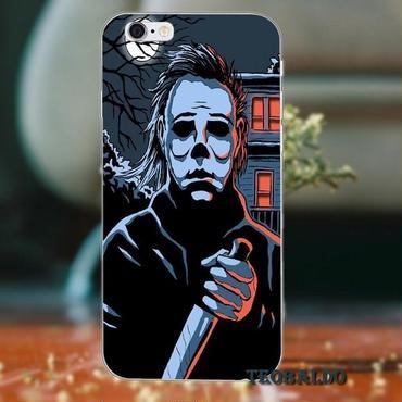 ハロウィーン マイケルマイヤーズ (Halloween Michael Myers)スマホケース カバー 保護ケース シリコン製 iphone用 25