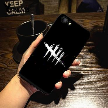デッド バイ デイライト(Dead By Daylight) ロゴ スマホ カバー 保護ケース ソフトシリコン製  iPhone  5 5s  se 6 6s 7 8 plus X