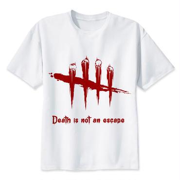 DBD デッドバイデイライト DEAD BY DAYLIGHT Tシャツ ロゴ レッド