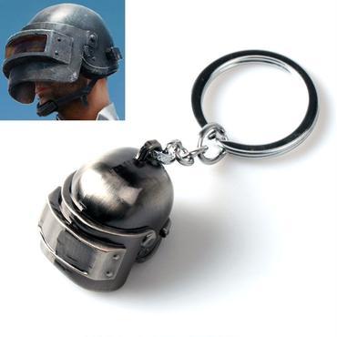 PUBG レベル3 ヘルメット キーホルダー 防弾 フェイス マスク 装備 サバイバル サバゲー カバー ガード 防具 荒野行動 ドン勝