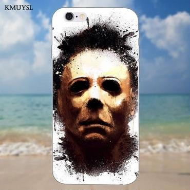 ハロウィーン マイケルマイヤーズ (Halloween Michael Myers)スマホケース カバー 保護ソフトケース シリコン製 iphone用 2