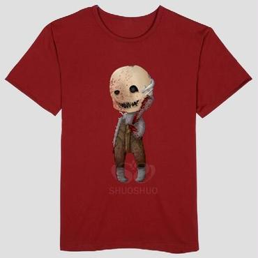 DBD デッドバイデイライト DEAD BY DAYLIGHT Tシャツ トラッパー オリジナル レッド