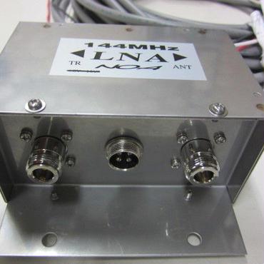 川越無線/NOA 144MHz アンテナ直下型受信プリアンプ ★新品・メーカーからの入荷品★