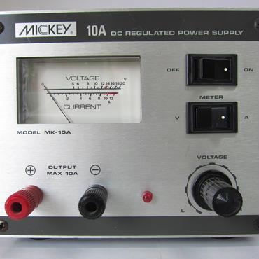 MICKEY/ミッキー MK-10A  DC13.8V  8A 電源  ★中古品・貴重★