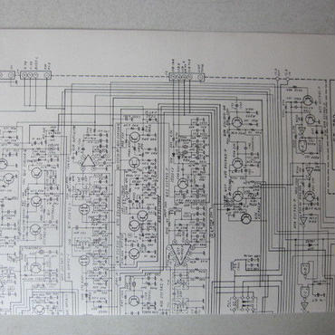 YAESU/八重洲/ヤエス FT-780  CONNECTION  ・MAIN UNIT CIRCUIT ・PLL UNIT CIRCUIT DIAGRAM (回路図)★中古品・貴重品★