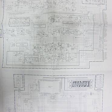 STANDARD/スタンダード C112の回路図・ブロック図 ★中古品・レア★