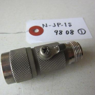 サンコーシヤ/SANKOSHA      N-JP-1S形      N型コネクタを使用する高周波同軸回線を雷サージから保護する同軸用SPD(避雷器)★(N-JP-1S  9808①)中古品・貴重品★