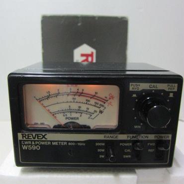 REVEX 400-1300MHz SWR&POWER METER(春日電子オリジナル 1200MHz帯のSWR&パワー計)★中古品・貴重品★