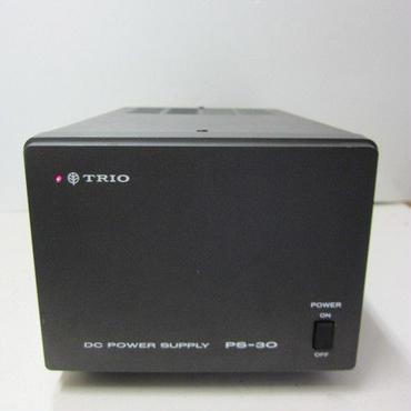 トリオ/TRIO  PS-30 (TS-120シリーズ用) 安定化電源★中古品・レア★