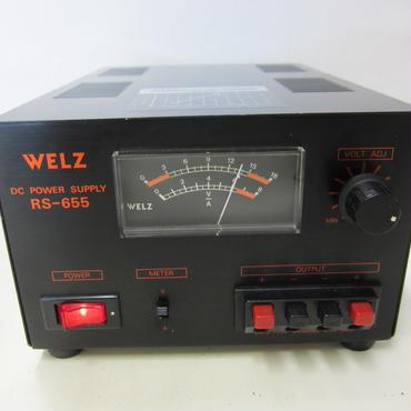 WELZ/ウェルツ RS-655 直流安定化電源 ★中古品・レア★