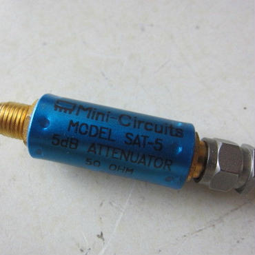 ミニ サーキット/Mini-Circuits   SAT-5    SMA型コネクタ同軸用アッテネーター(5dBタイプ)★中古品・貴重品★