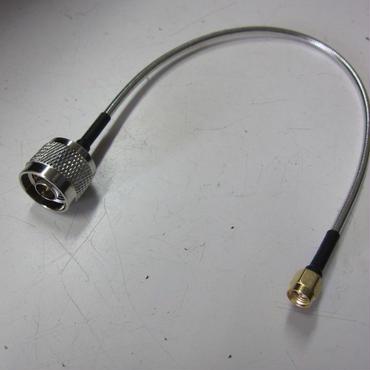 コスモウェーブ/COSMOWAVE   低損失同軸変換ケーブル 33cm SMAP-NPコネクター付 (数量限定品) ⑥★新品・入荷品★