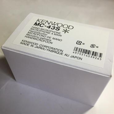 ケンウッド/KENWOOD MC-43S ハンドマイク(8ピンメタル)★展示・在庫品★