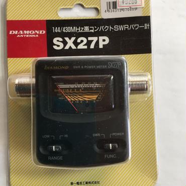 第一電波工業(株) 144/430MH帯コンパクトSWRパワー計 SX27P