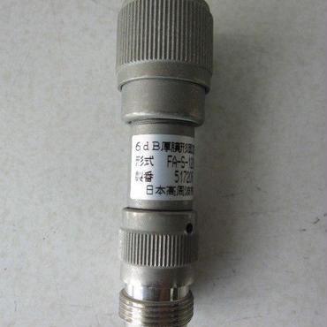 日本高周波 FA-S-1206   6dB 厚膜形固定減衰器 ① ★中古品・貴重品★