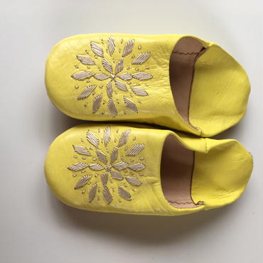 KIDS BABOUCHE / YELLOW