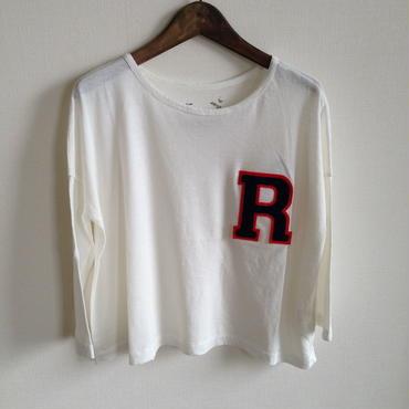 MUU MUU 大人『R』オーガニックTシャツ