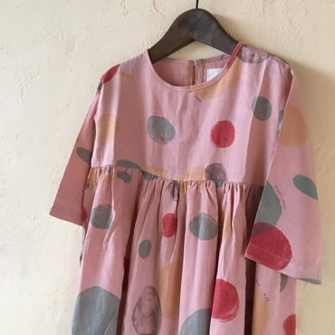 muu muu KURURI DRESS  / PINK