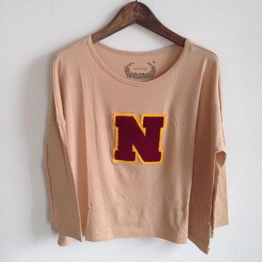 MUU MUU 大人 『N』オーガニックTシャツ