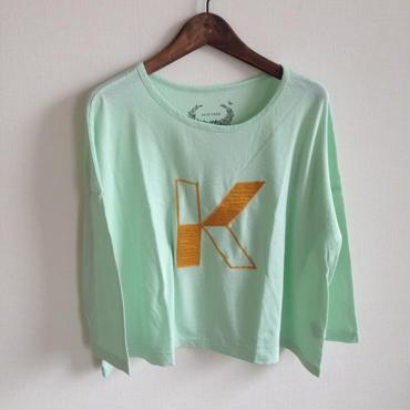MUU MUU 大人 『K』オーガニックTシャツ