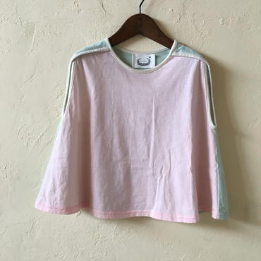 ★SAMPLE★ mix CUT TOP / pink mix 110サイズ