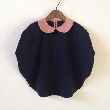 dear muu muu / CIRCLE TOP  / BLACK
