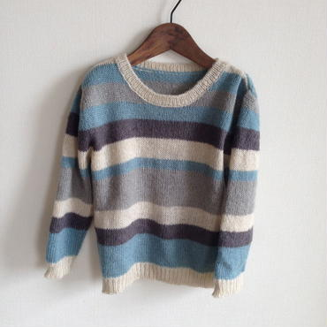【SALE】dear muu muu /KIDS / BORDER KNIT