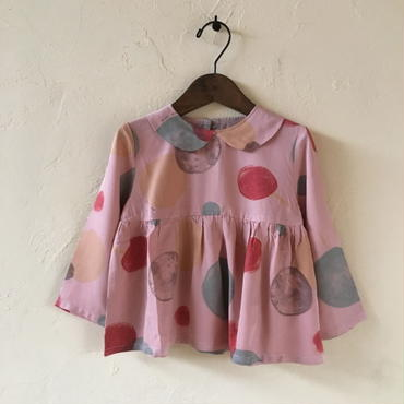★SAMPLE★ muu muu KURURI BLOUSE / PINK110