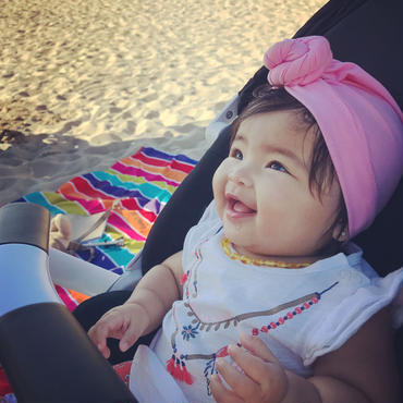 Baby turban headband