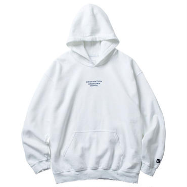LIBERAIDERS - EMBROIDERY PULLOVER HOODIE (ホワイト)