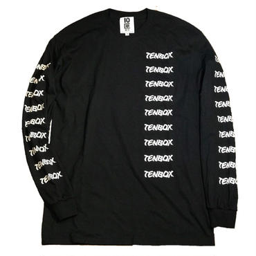 T TENBOX L/S  (ブラック)