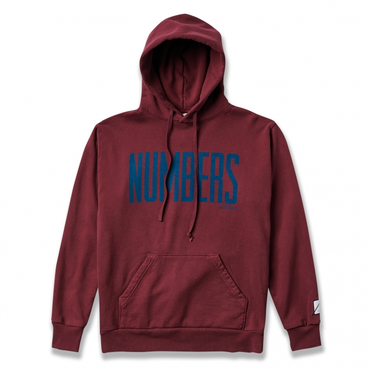 NUMBERS edition - UPRIGHT - FLEECE HOODIE
