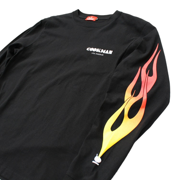 COOKMAN - Long sleeve Tシャツ「FLAMBE」