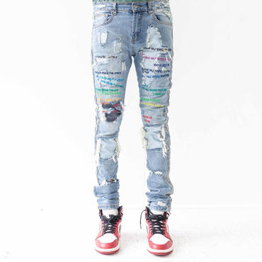 EV BRAVADO - CO. 03 ROYGBIV/INDIGO THEME DENIM